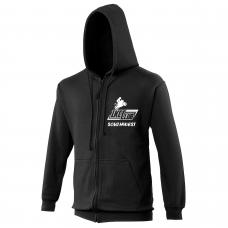 1Kcc Club SOUTHWEST Embroidered Zip-Up Hoodie / Hooded Sweatshirt