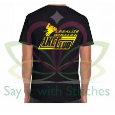1Kcc Club Legalize Wheelies Crew Neck T-Shirt