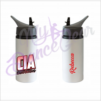 CIA Personalised Sip Straw Water Bottle