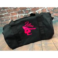 Personalised Gymnastics Kit Barrel Bag