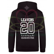 Leavers 2020 Novelty Quarantine Hoodie
