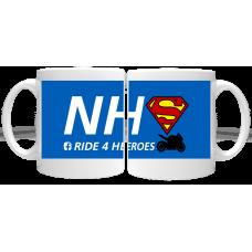 NHS Ride 4 Heroes Mug 2021
