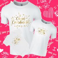 Chaos Creator / Chaos Coordinator Twinning Family T-Shirt Set