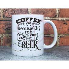 Sarcastic Coffee and Beer 11oz Personalised Mug Gift