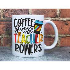 Sarcastic Coffee Teacher 11oz Personalised Mug Gift
