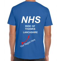 NHS Ride of Thanks UNDATED Royal Blue T-Shirt